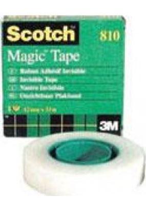Εικόνα της ΚΟΛΛΗΤΙΚΗ ΤΑΙΝΙΑ SCOTCH MAGIC 3Μ-810 12Χ33 INVISIBLE