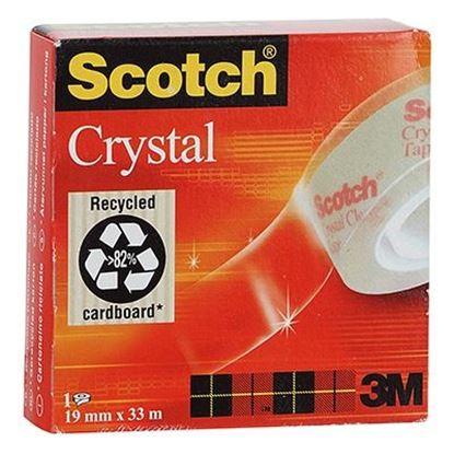 Εικόνα της ΚΟΛΛΗΤΙΚΗ ΤΑΙΝΙΑ SCOTCH CRYSTAL 3Μ-60019Χ33