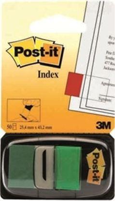 Εικόνα της ΣΕΛΙΔΟΔΕΙΚΤΕΣ POST-IT INDEX 680-3 ΠΡΑΣΙ ΝΟ