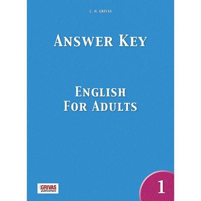 Εικόνα της ENGLISH FOR ADULTS 1 ANSWER KEY