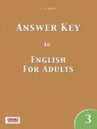Εικόνα της ENGLISH FOR ADULTS 3 ANSWER KEY