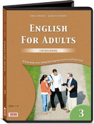 Εικόνα της ENGLISH FOR ADULTS 3 COURSEBOOK CDS(8)