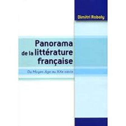 Εικόνα της PANORAMA DE LA LITTERATURE FRANCAISE