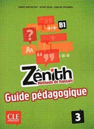 Εικόνα της ZENITH 3 B1 GUIDE PEDAGOGIQUE