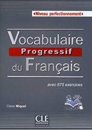 Εικόνα της VOCABULAIRE PROGRESSIF DU FRANCAIS PERFECTIONNEMENT (+ CD) AVEC 675 EXERCISES