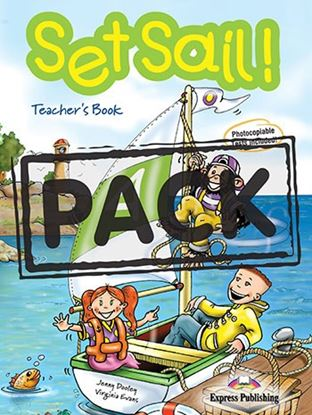 Εικόνα της SET SAIL 4 TEACHERS BOOK