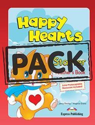 Εικόνα της HAPPY HEARTS STARTER TEACHER'S MINI PACK (DVD PAL)??(Pupil's boo k with stickers & press outs, Teacher