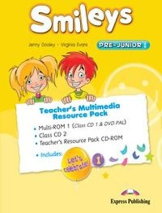 Εικόνα της SMILEYS PRE-JUNIOR TEACHER'S MULTIMEDIA RESOURCE PACK(SET OF 3) (GREECE) (MULTI-ROM PAL(CLASS CD1/DVD