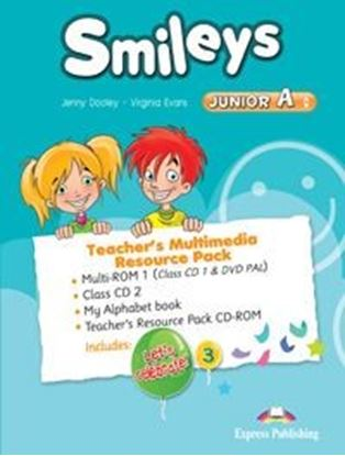 Εικόνα της SMILEYS JUNIOR A TEACHER'S MULTIMEDIA RESOURCE PACK(SET OF 4) INTERNATIONAL (CLASS CDs/DVD PAL), My A