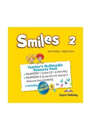 Εικόνα της SMILEYS 2 TEACHER'S MULTIMEDIA RESOURC E PACK(SET OF 2) (INTERNATIONAL) (MULTI-ROM PAL(CLASS CDs/DVD P