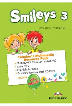 Εικόνα της SMILEYS 3 TEACHER'S MULTIMEDIA RESOURC E PACK(SET OF 4) INTERNATIONAL  (CLASS CDs/DVD PAL), My Alphabe