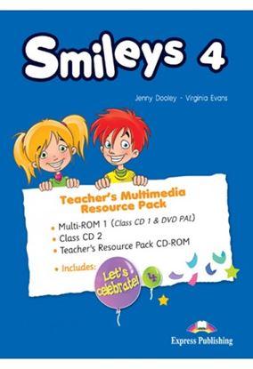 Εικόνα της SMILEYS 4 TEACHER'S MULTIMEDIA RESOURC E PACK(SET OF 3) INTERNATIONAL (CLASS CDs/DVD PAL), T'S RESOURC