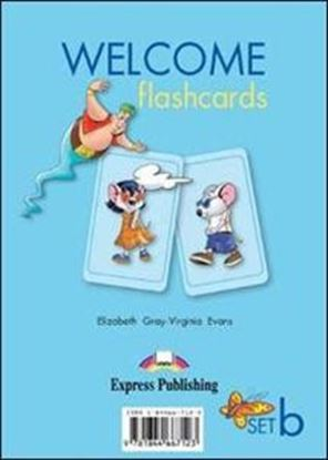 Εικόνα της WELCOME FLASHCARDS SET B