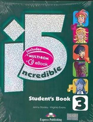 Εικόνα της INCREDIBLE 5 3 POWER PACK 2 (WITH EXTR A GRAMMAR) (GREECE) (Student's ,Multi-ROM, ieBook, Workbook & G