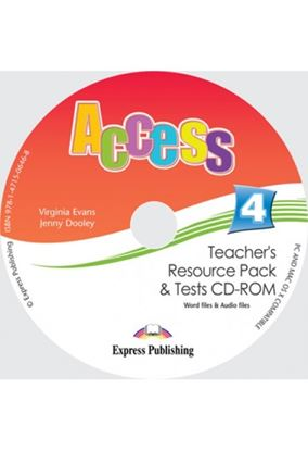 Εικόνα της ACCESS 4 TEACHER'S RESOURCE PACK & TESTS CD-ROM