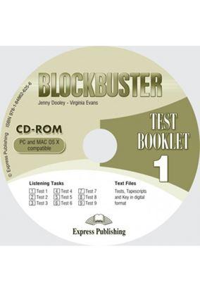 Εικόνα της BLOCKBUSTER 1 TEST BOOKLET CD-ROM