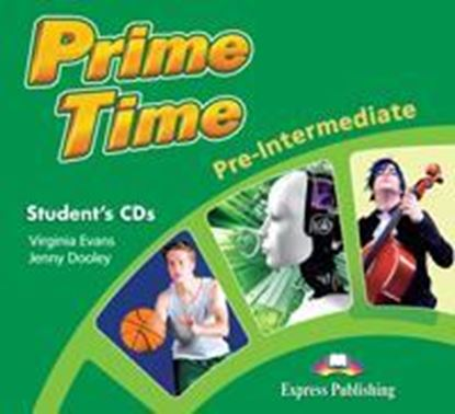 Εικόνα της PRIME TIME PRE INTERMEDIATE STUDENT CD'S (SET OF 2) INTERNATIONA L