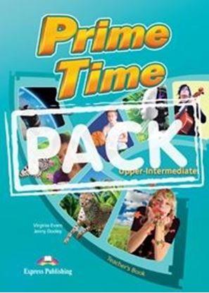 Εικόνα της PRIME TIME UPPER INTERMEDIATE TEACHER'S BOOK (INTERLEAVED)??(WIT H WRITING BOOK & KEY) ( INTERNATIONAL