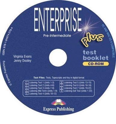 Εικόνα της ENTERPRISE 3 PLUS TEST BOOKLET CD-ROM