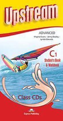 Εικόνα της UPSTREAM ADVANCED C1 STUDENT'S BOOK &WORKBOOK CLASS CDs (SET OF 8) REVISED