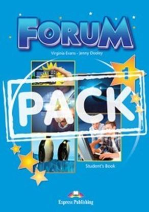 Εικόνα της FORUM 1 STUDENT'S PACK 1 (GREECE) (S'S,ieBOOK) REVISED