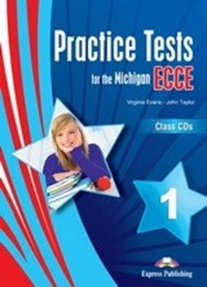 Εικόνα της PRACTICE TESTS FOR THE MICHIGAN ECCE 1 CLASS CD'S (SET OF 3)