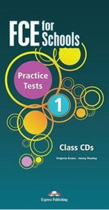 Εικόνα της FCE FOR SCHOOLS PRACTICE TESTS 1 CLASS CD'S REVISED (SET OF 5) ( INTERNATIONAL)