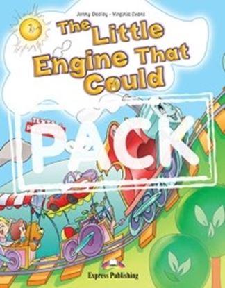 Εικόνα της THE LITTLE ENGINE THAT COULD STORY BOOK WITH CD & DVD