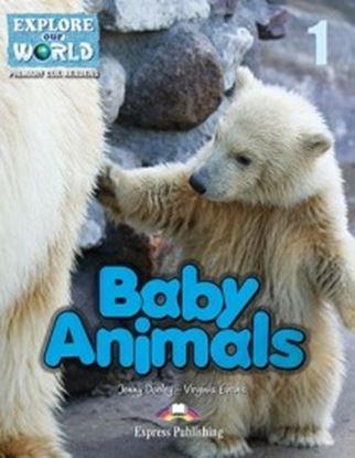 Εικόνα της BABY ANIMALS (EXPLORE OUR AMAZING WORLD) READER WITH APPLICATION