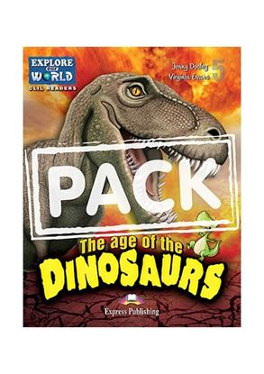 Εικόνα της THE AGE OF DINOSAURS (EXPLORE OUR AMAZ ING WORLD) TEACHER'S PACK