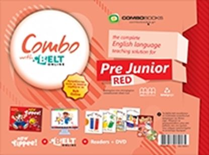 Εικόνα της COMBO WITH BELT Online PRE-JUNIOR (RED)