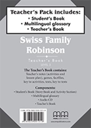 Εικόνα της Swiss Family Robinson - Teacher's Pack   (Includes Teacher's Book & Student's Book with Glossary)
