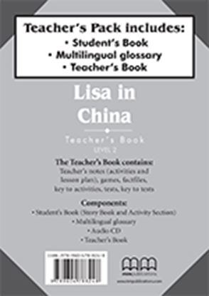 Εικόνα της LISA IN CHINA Teacher's Pack (Teacher's Book, Student's Book with Glossary) t's Book with Glossary)