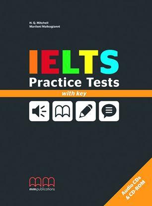 Εικόνα της IELTS PRACTICE TESTS BOOK WITH KEY (CD)