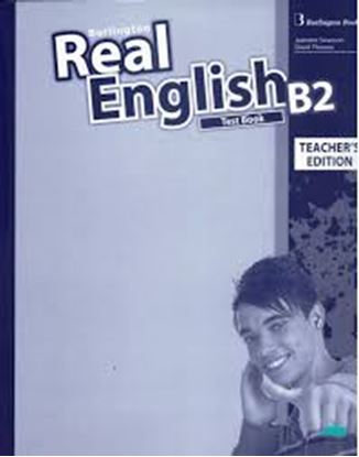 Εικόνα της REAL ENGLISH B2 TCHR'S TEST
