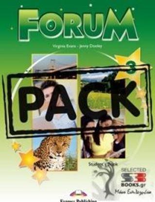 Εικόνα της FORUM 3 STUDENT'S PACK 2 (GREECE) (S'S ,COMPANION,WORKBOOK,ieBOOK) REVISED
