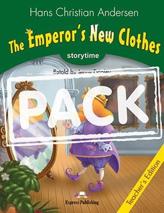 Εικόνα της THE EMPEROR'S NEW CLOTHES T'S PACK WIT H CD PAL