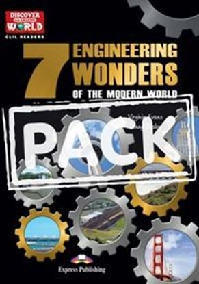 Εικόνα της THE 7 ENGINEERING WONDERS OF THE WORLD   (DISCOVER OUR AMAZING WORLD) READER WITH CROSS-PLATFORM APPLI