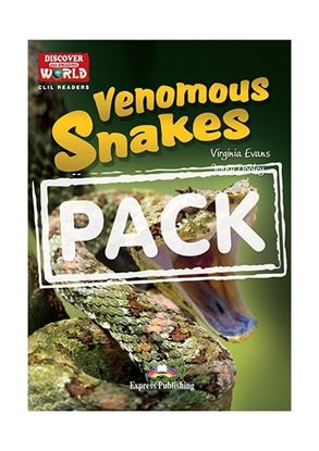 Εικόνα της VENOMOUS SNAKES TEACHER'S PACK WITH CD -ROM PAL (AUDIO & KEY) WITH CROSS-PLATFORM APPLICATION