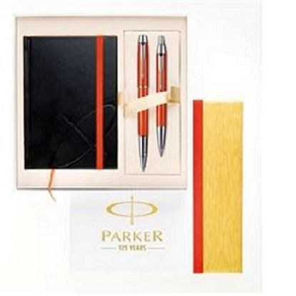 Εικόνα της PARKER URBAN CHISELLED PEARL SET