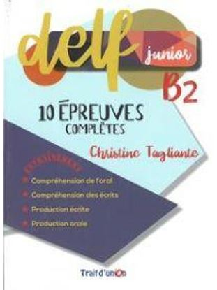 Εικόνα της DELF JUNIOR B2 10 EPREUVES COMPLETES33.31