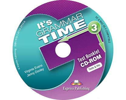 Εικόνα της It's Grammar Time 3 - Test Booklet CD-ROM