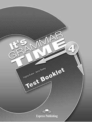 Εικόνα της It's Grammar Time 4 - Test Booklet