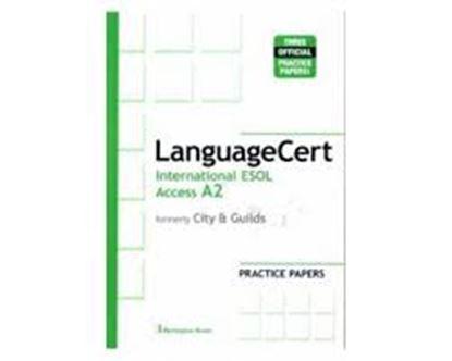 Εικόνα της LANGUAGE CERT INTERNATIONAL ESOL ACCESS A2 PRACTICE TESTS SB