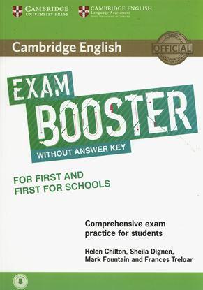 Εικόνα της CAMBRIDGE ENGLISH EXAM BOOSTER FIRST + FIRST FOR SCHOOLS (+ AUDIO)