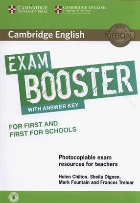 Εικόνα της CAMBRIDGE ENGLISH EXAM BOOSTER FIRST + FIRST FOR SCHOOLS (+ AUDIO) W/A