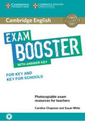 Εικόνα της CAMBRIDGE ENGLISH EXAM BOOSTER KEY & KEY FOR SCHOOLS  (+ AUDIO) W/A