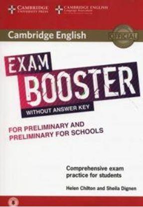 Εικόνα της CAMBRIDGE ENGLISH EXAM BOOSTER PRELIMINARY & PRELIMINARY FOR SCHOOLS (+ AUDIO)