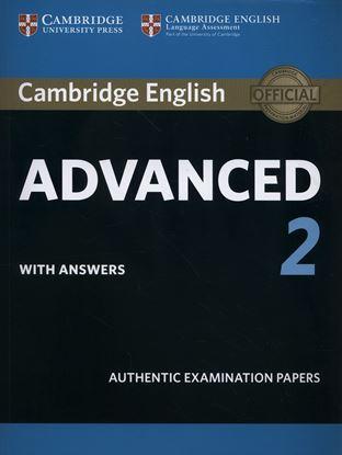 Εικόνα της CAMBRIDGE ENGLISH ADVANCED 2 SB W/A