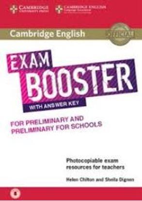 Εικόνα της CAMBRIDGE ENGLISH EXAM BOOSTER PRELIMINARY & PRELIMINARY FOR SCHOOLS (+ AUDIO) W/A